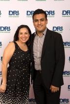 Karol Cordero de DRI Costa Rica y Eduardo Escalera de DRI Mexico