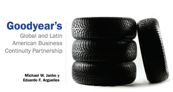 Goodyear's Global and Latin American Business Continuity Partnership