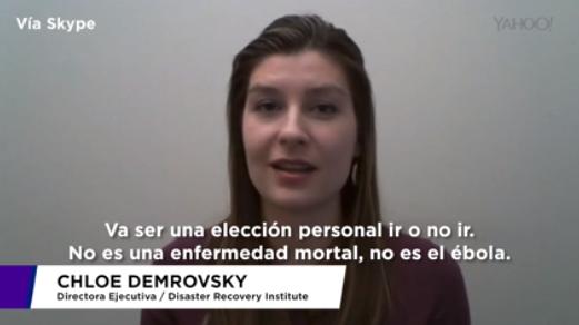 Chloe Demrovsky / Zika / Yahoo